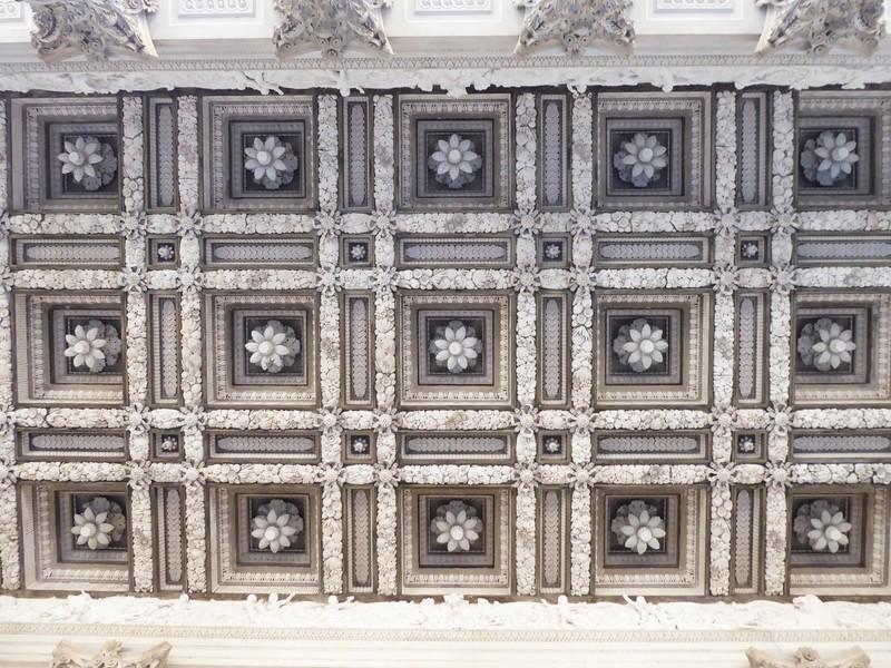 Portico ceiling, Fitzwilliam Museum, Cambridge