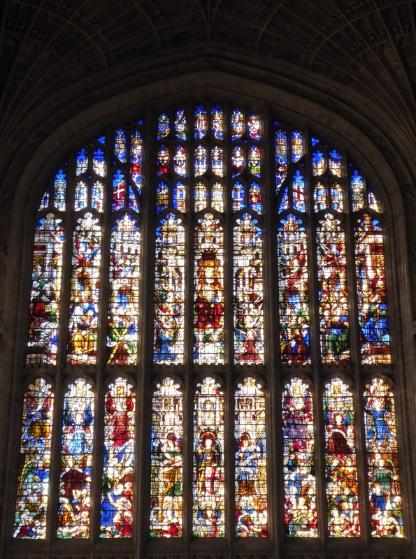 West window, King's College Chapel, Cambridge