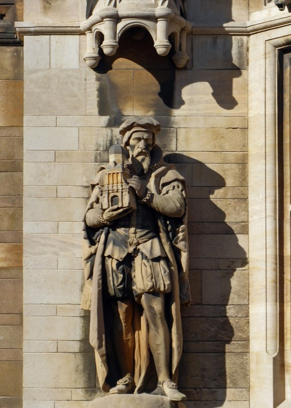 Gonville and Caius College, Cambridge - carving detail