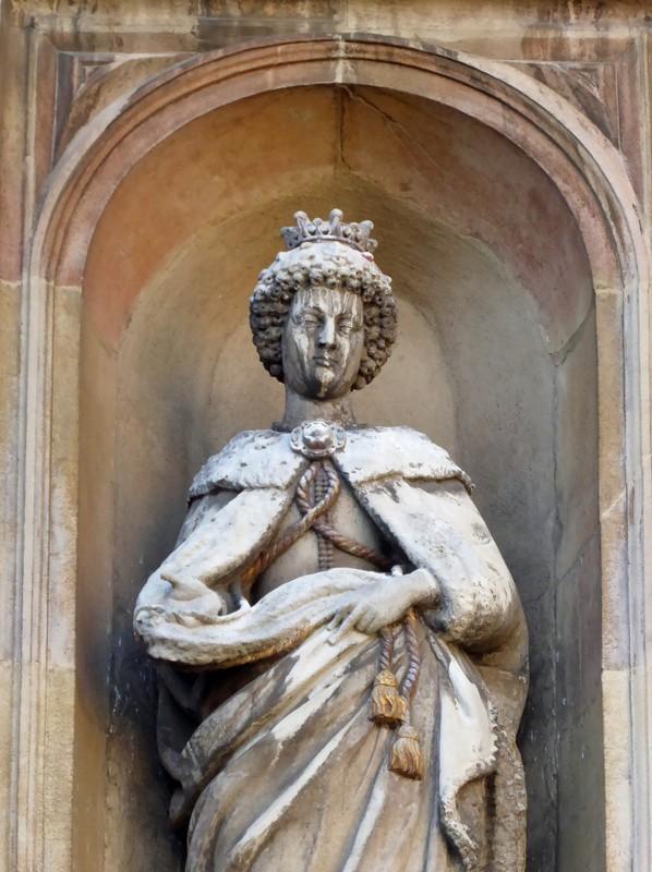 Statue of Mary Talbot, St John's College, Cambridge
