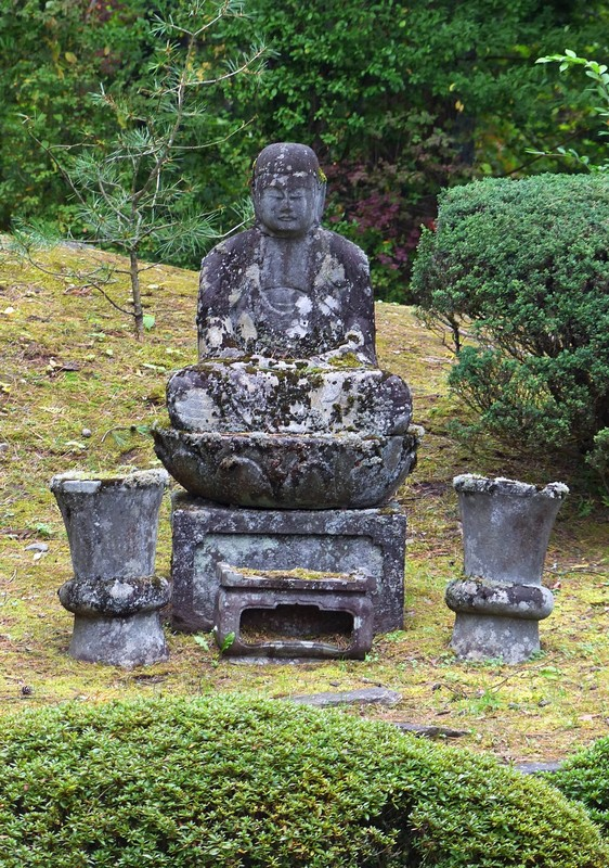 In the grounds of Rinnoji Temple