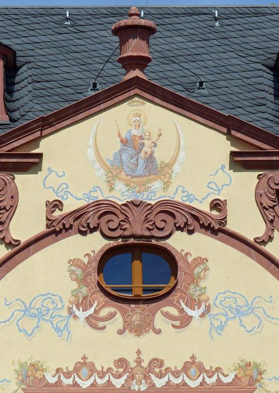 Building in Marktplatz, Mainz