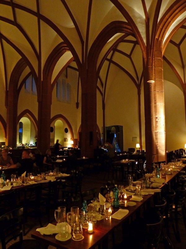 In Heiliggeist restaurant