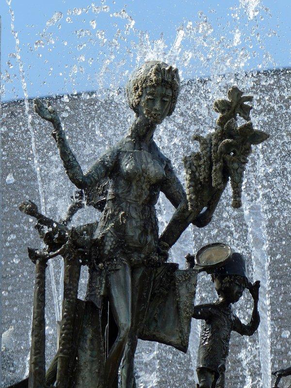 Fastbrunnen, Schillerplatz, Mainz