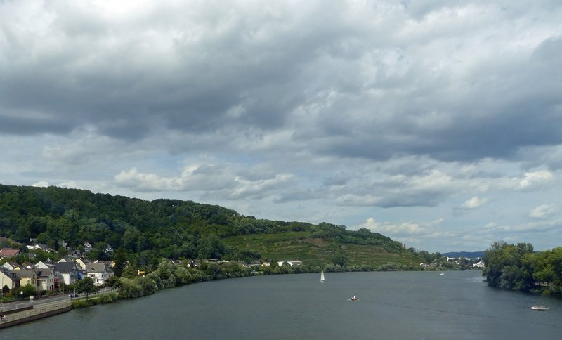 Crossing the Moselle