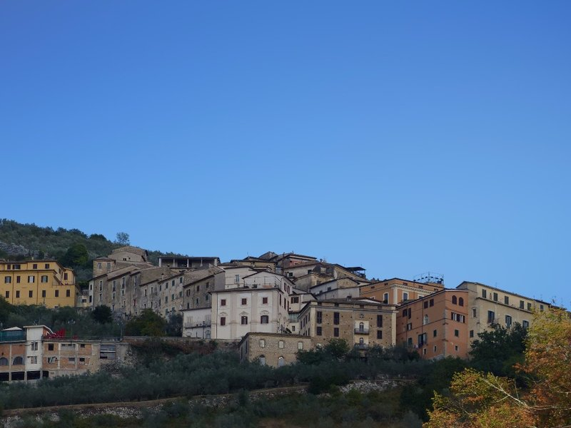 Arpino from the station