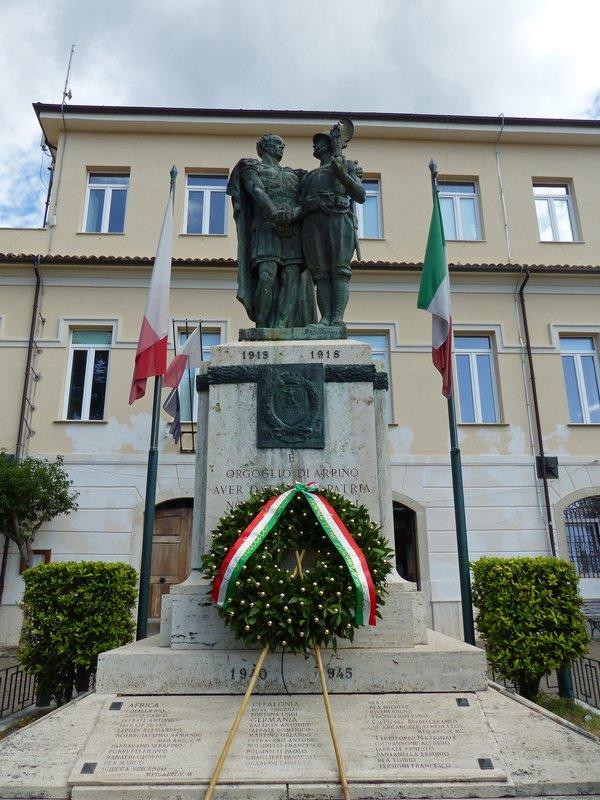 War memorial, Arpino