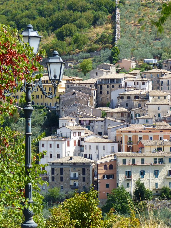 View from Via Caio Mario, Arpino