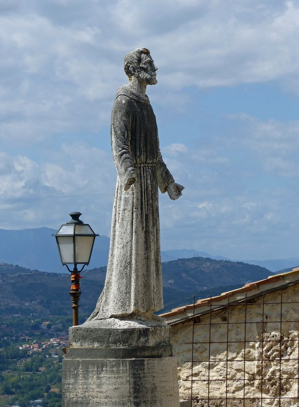 Statue of St Francis, Arpino