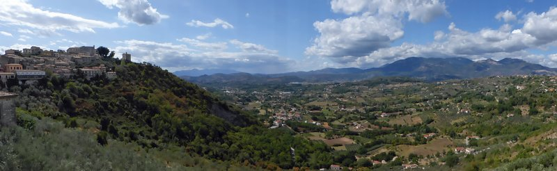 View from the Belvedere, Arpino