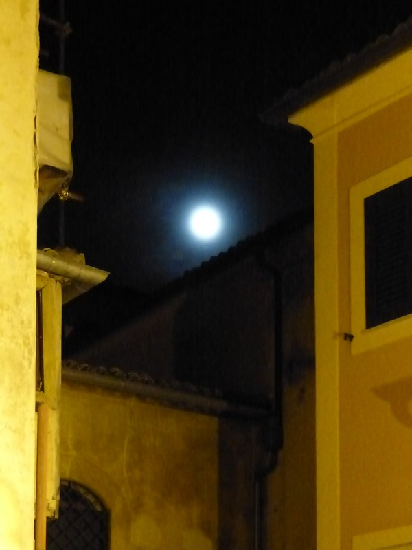 Arpino by moonlight