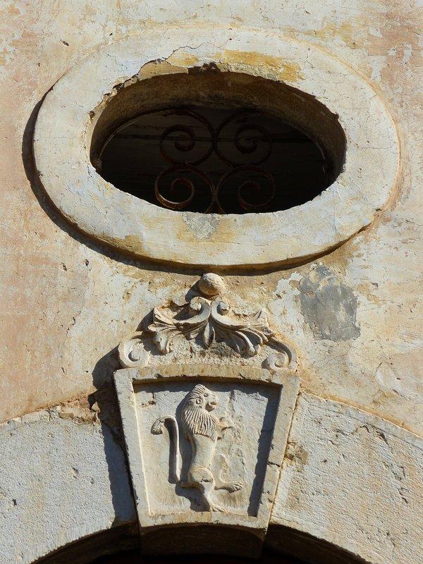 Entrance to house on via Pio Spaccamela