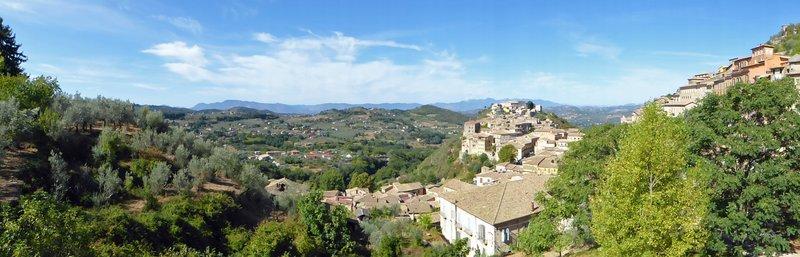 View from via Pio Spaccamela