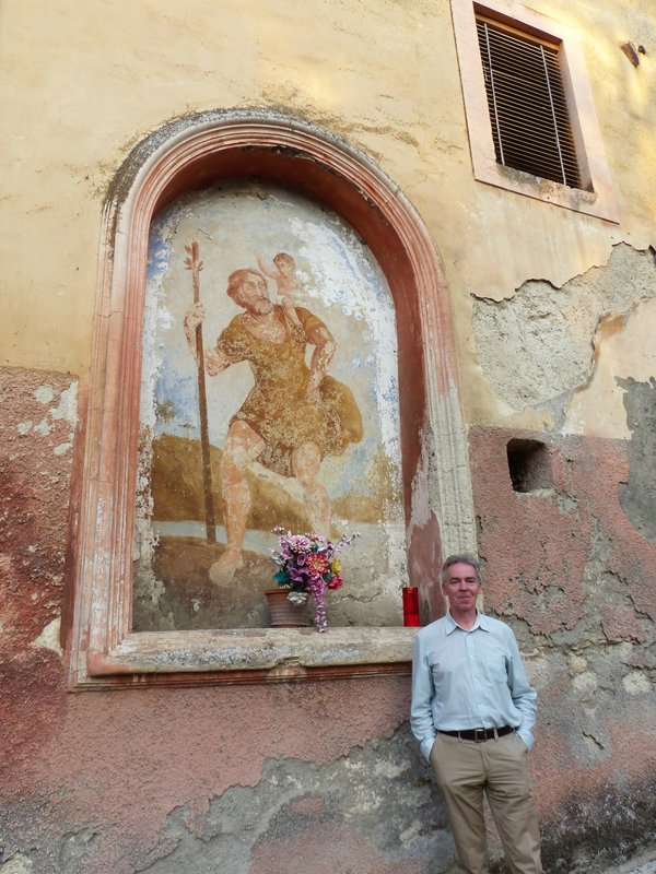 Chris and St Christopher, Arpino