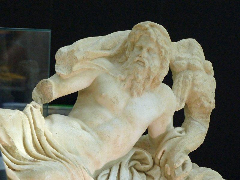 Statue of River God, Fiumicino