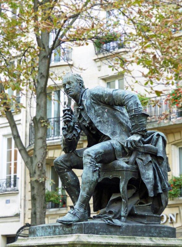 Statue of Diderot, Boulevard Saint Germain