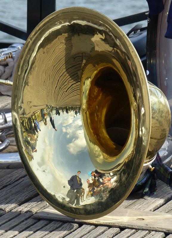 Music on the Pont des Arts