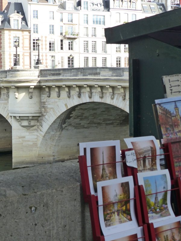 Bouquiniste by the Pont Neuf