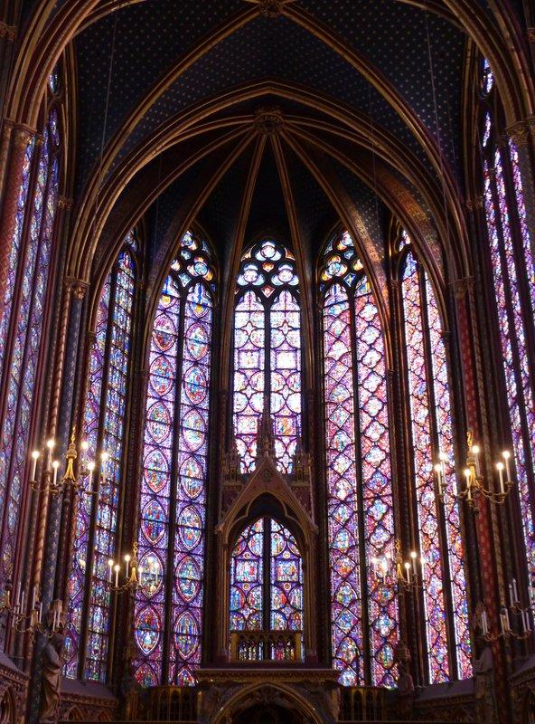 Sainte Chapelle - Chapelle Haute - apse