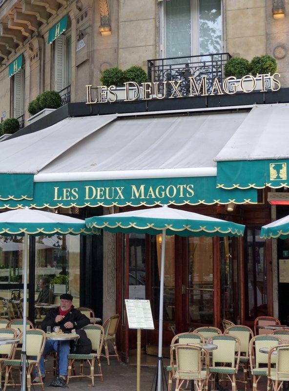 Les Deux Magots, Place Saint Germain des Prés