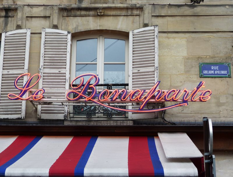 In the Place Saint Germain des Prés