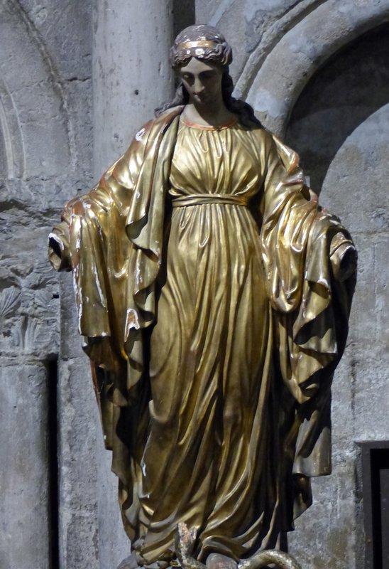 In the church of Saint Germain des Prés