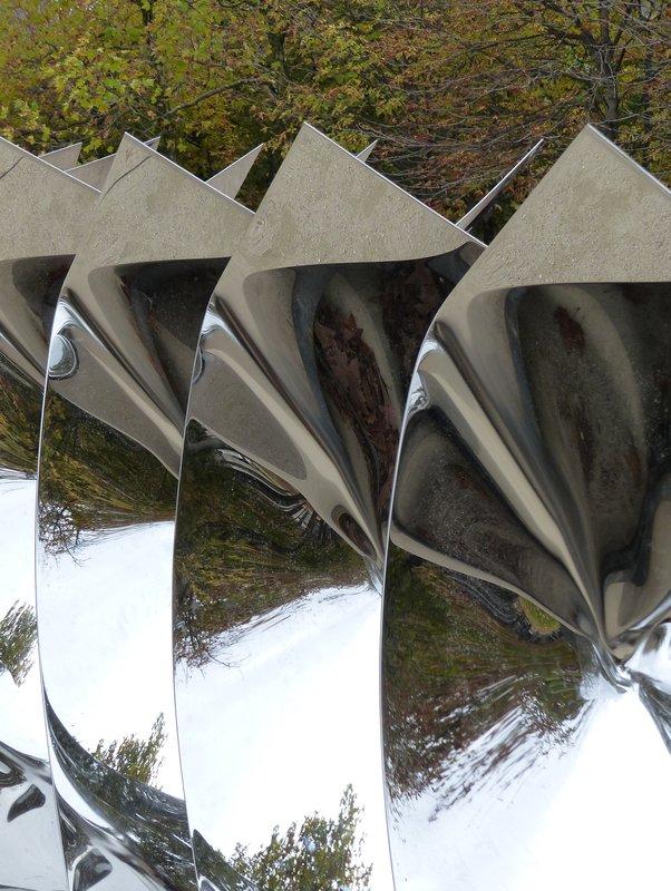 Modern art in the Jardins des Tuileries