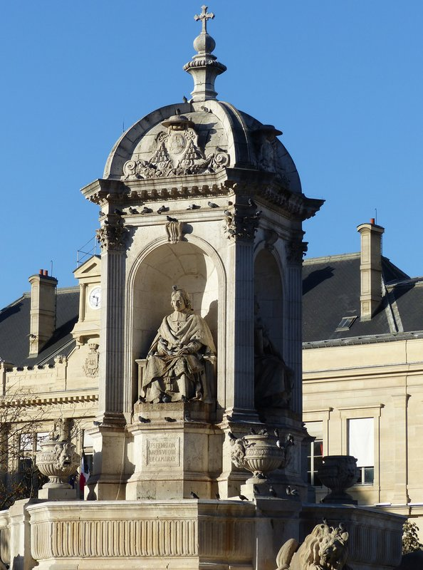 Fountain of the Bishops, Place Saint Sulpice