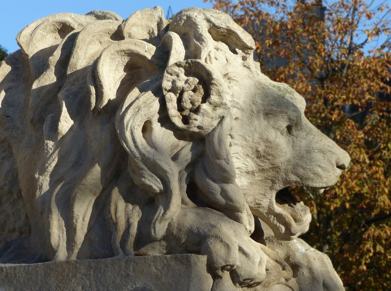 Lion, Fountain of the Bishops, Place Saint Sulpice