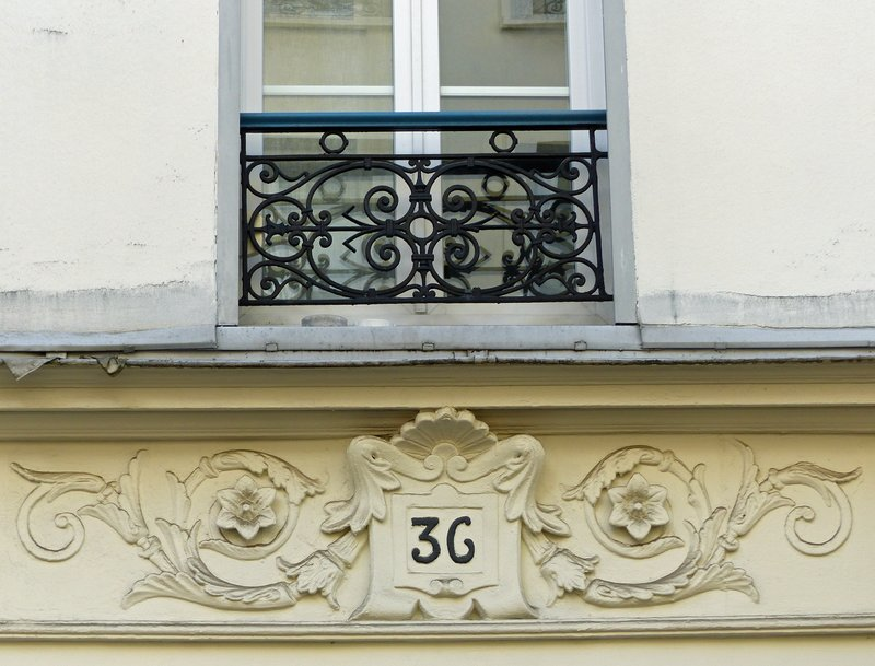 House detail, Butte-aux-Cailles