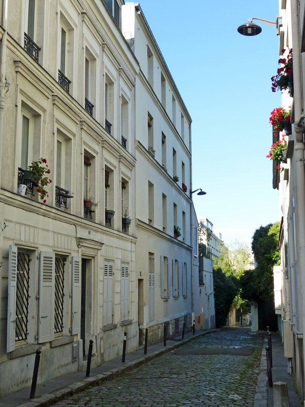 Street in the Butte-aux-Cailles