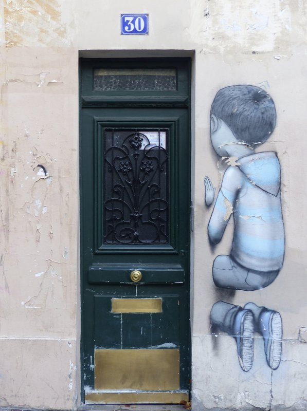 Street art in the Butte-aux-Cailles