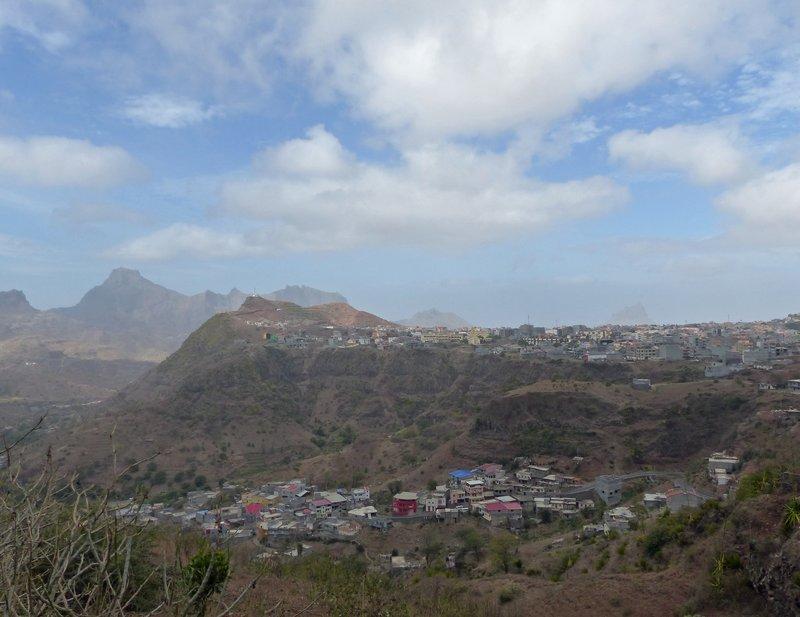 View of Picos, Santiago, Cape Verde