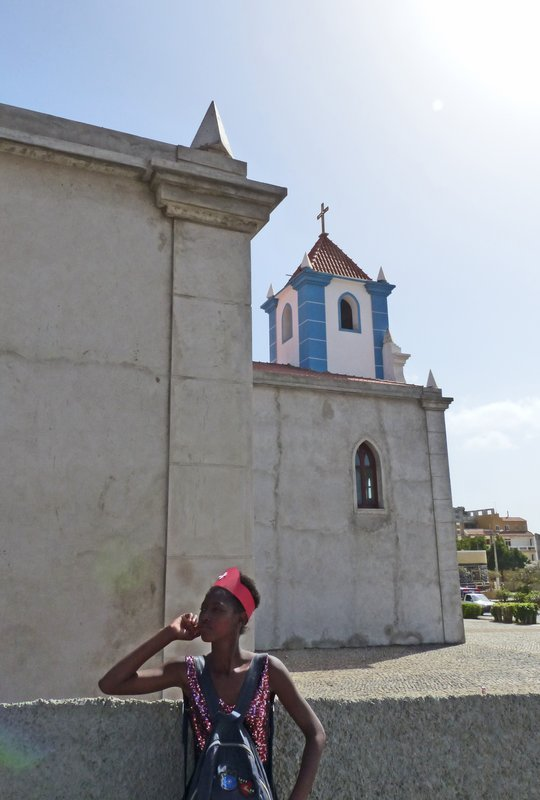 Church in Tarrafal, Santiago