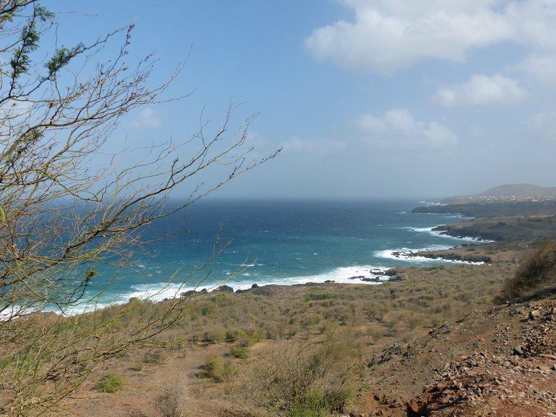 East coast of Santiago, Cape Verde