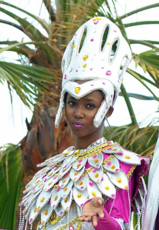 Children's carnival in Calheta de São Miguel, Santiago, Cape Verde