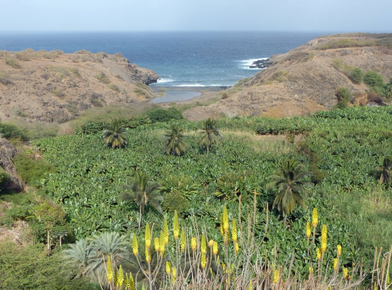 East coast of Santiago, Cape Verde