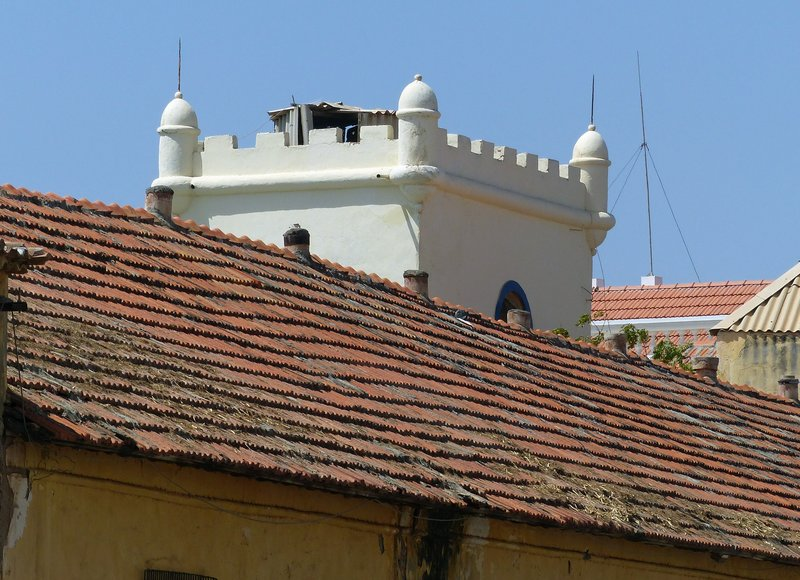 Tower of the Quartel Jaime Mota, Praia