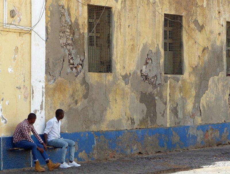 Near the Miradouro do Cruzeiro, Praia