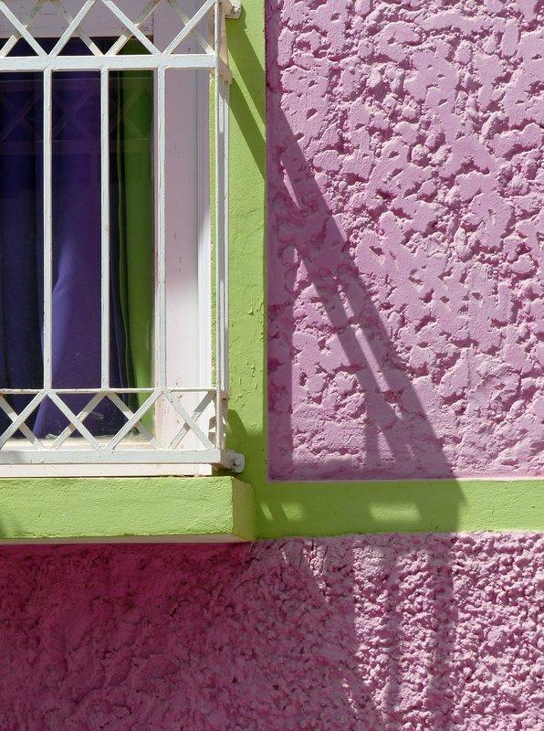 Colourful house, Praia