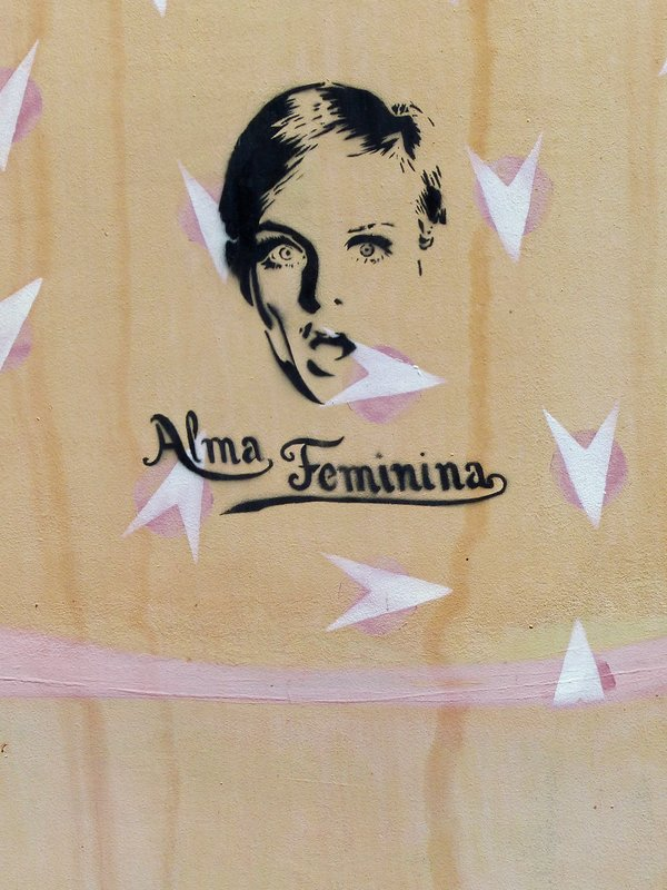 Street art near the Praça Luis de Camoes, Praia