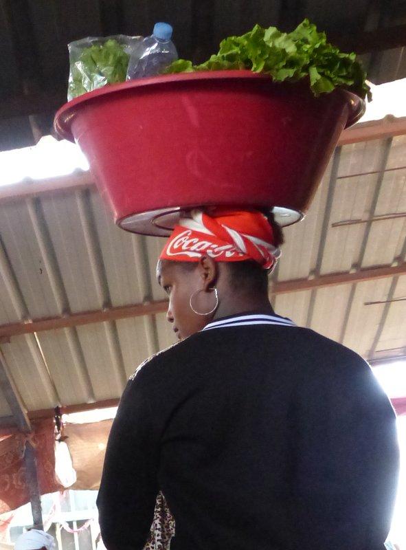 In the Mercado de Sucupira
