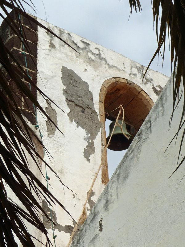 Bell tower of Nossa Senhora do Rosario, Cidade Velha, Santiago, Cape Verde