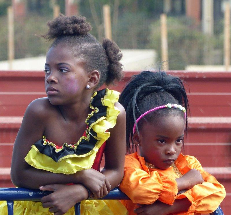 At the carnival in Praia