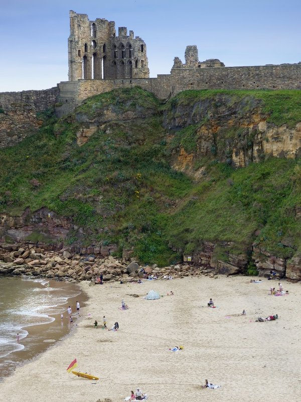 King Edward's Bay, Tynemouth, and the Priory