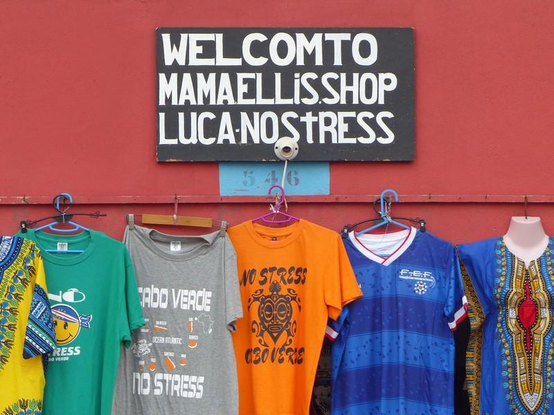 T-shirt shop, Santa Maria