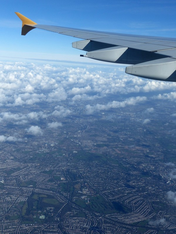 Taking off from Heathrow