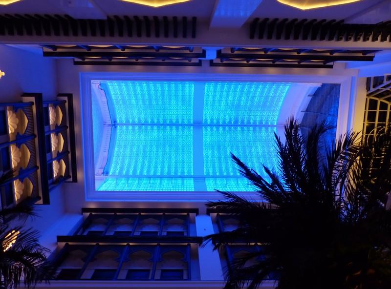 Atrium roof, Bab al Qasr hotel