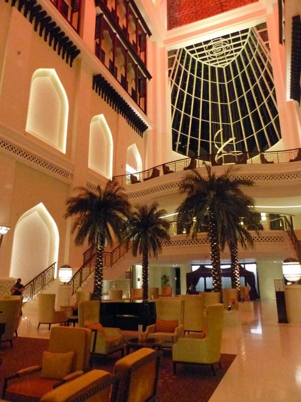Atrium of the Bab al Qasr hotel
