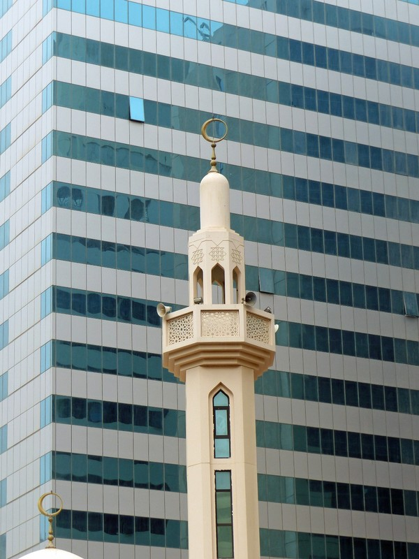 Abu Dhabi architecture - traditional and modern